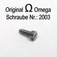 Omega Schraube 2003 Part Nr. Omega 2003