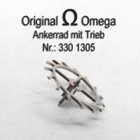 Omega Ankerrad mit Trieb für Hammerautomatik Part Nr. Omega 330-1305 Cal. 330 331 332 333 340 341 342 343 344 350 351 352 353 354 355