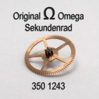 Omega Sekundenrad Part Nr. Omega 350-1243 Cal. 350 351 352 353 354 355