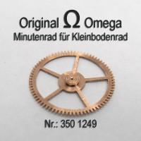 Omega Mitnehmrad über Kleinbodenrad Part Nr. Omega 350-1249 Cal. 350 351 352 353 354 355