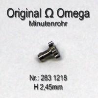 Omega Minutenrohr Höhe 2,45 mm Part Nr. Omega 283-1218 Cal. 283