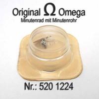 Omega Minutenrad mit Minutenrohr, NOS 4,19mm Part Nr. Omega 520-1224 Cal.  520