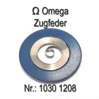 Omega Zugfeder NEU Part Nr. Omega 1030-1208 Cal. 1030 1035